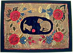 Antique Cats Rug