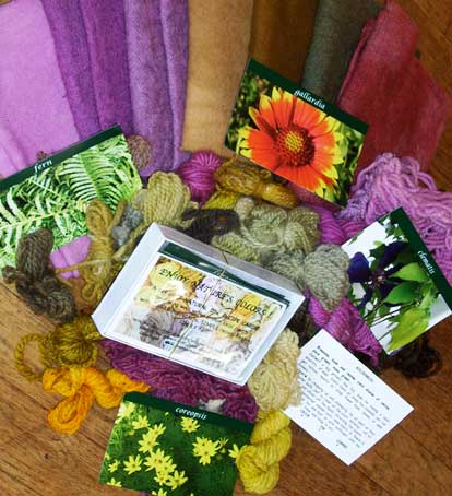 Natural Dye Recipe Cards
