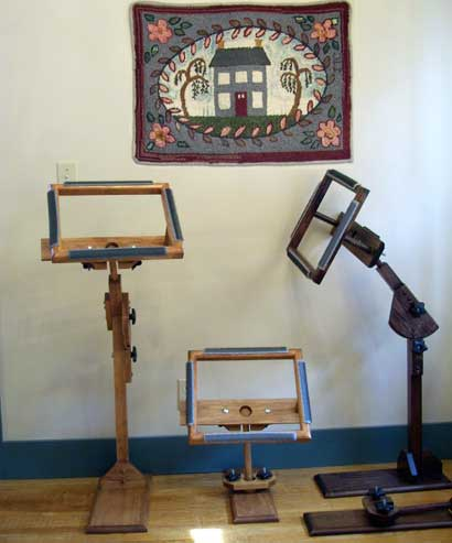 Handmade Rug Hooking Frames