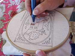 NEEDLE PUNCH RUG HOOKING PATTERNS: WINTER AND HOLIDAY DESIGNS